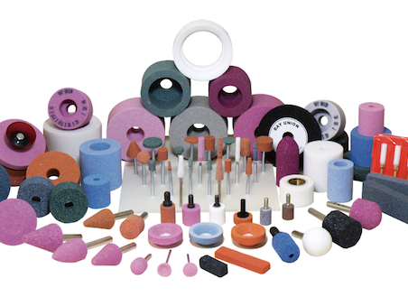 Family of bonded abrasives products by Bay Union, Mounted Point