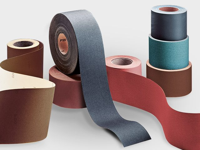 Ceramic, Zirconium Abrasive Roll by VSM Abrasives