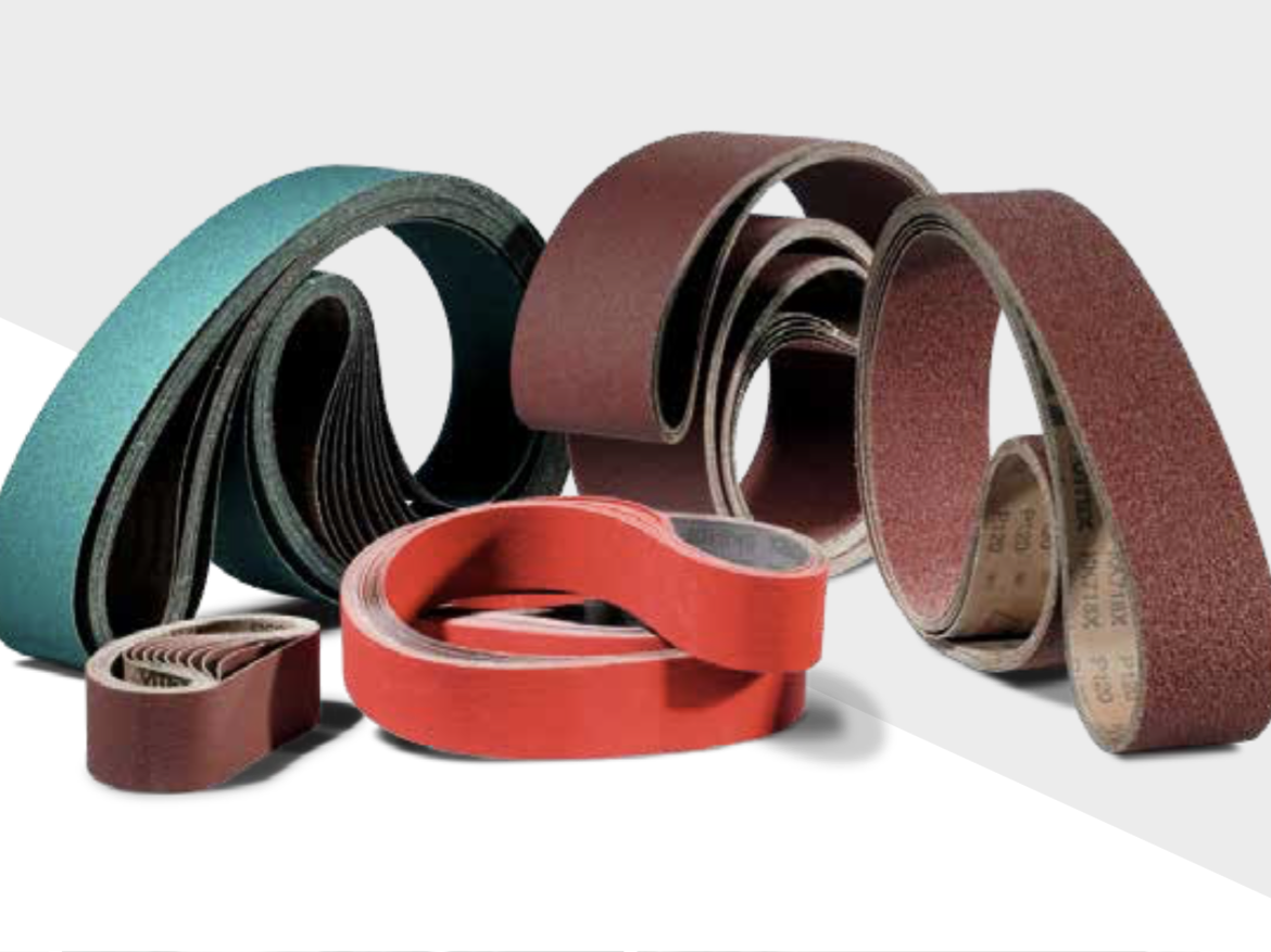 Ceramic Abrasive and sanding Belt by VSM Ceramics