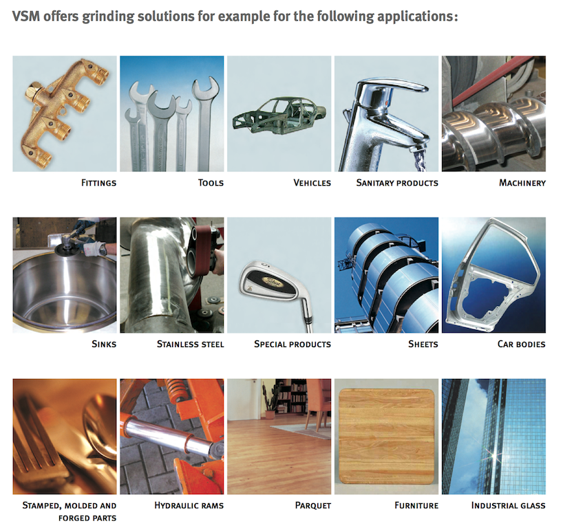 applicable industries for VSM products