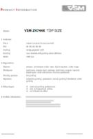 ZK744X TOP SIZE VSM Abrasive Material