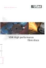 VSM High performance fibre disc catalogue