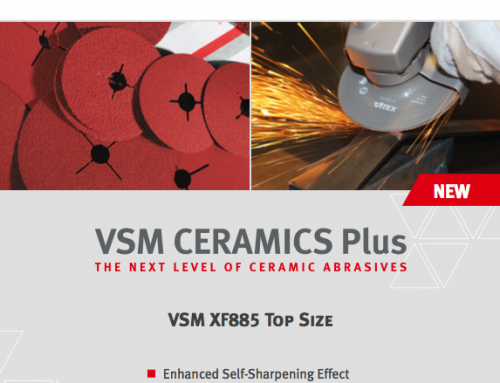 VSM XF885 Ceramic Plus+ Fibre Disc – Long Lasting and High Performance