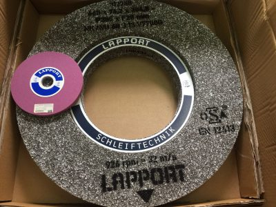 Large Lapport Grinding Wheel with Special Bonding